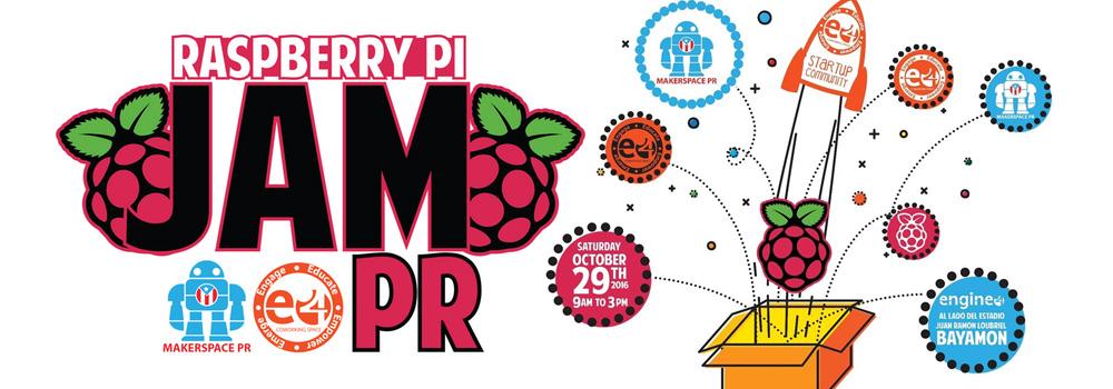 Raspberry Pi Jam el 29 de octubre de 2016 de 9am- 3pm en Engine-4