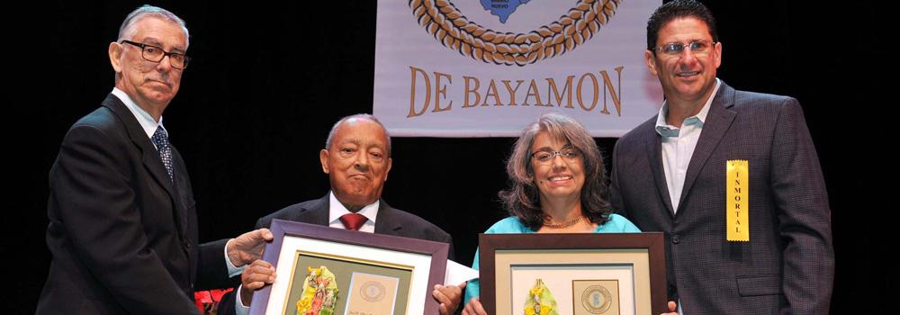 Inmortalizan a Grandes Figuras del Deporte Bayamonés
