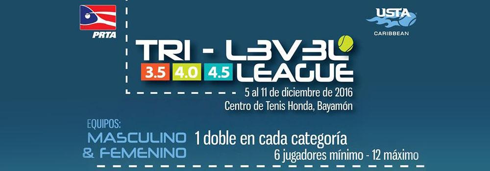 Tri-Level League en el Centro de Tenis Honda