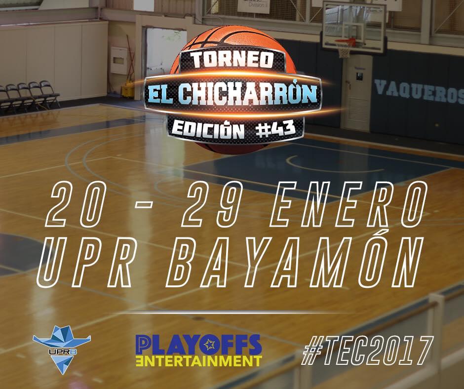 """Llega la 43ra Edición del Torneo de Baloncesto Universitario """"El Chicharrón"""""""