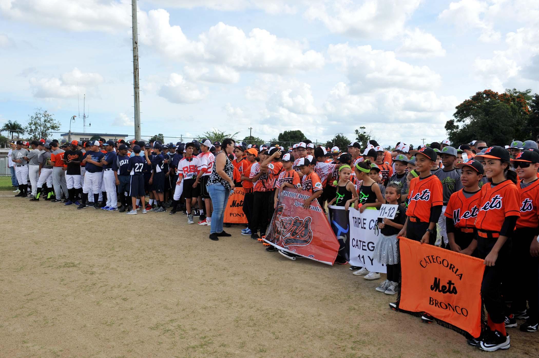 Inauguración Liga Boy's Baseball Santa Juanita