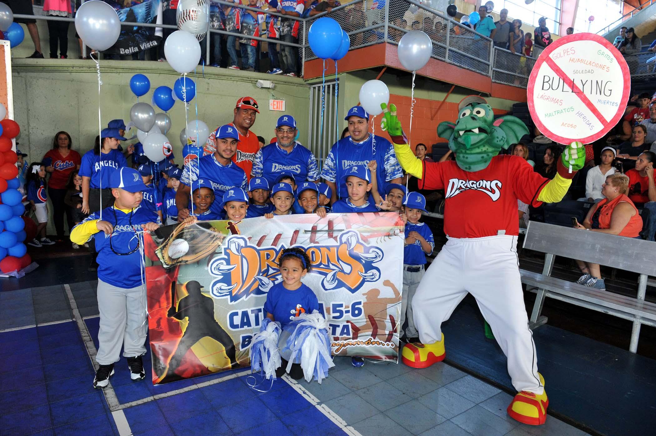 Inauguracion Pequenas Ligas Bayamon - Equipo Dragons