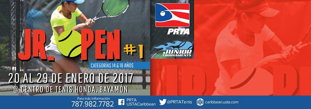 Jr. Open #1 del 20 al 29 de enero de 2017 en el Centro de Tenis Honda