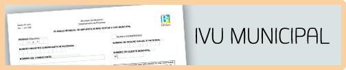Radica y paga las planillas mensuales del IVU municipal
