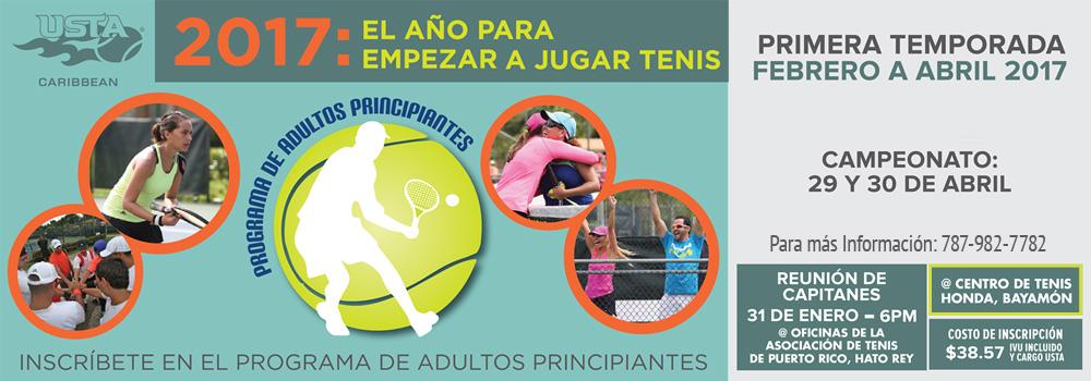 Programa de Tenis para Adultos Principiantes en el Centro de Tenis Honda