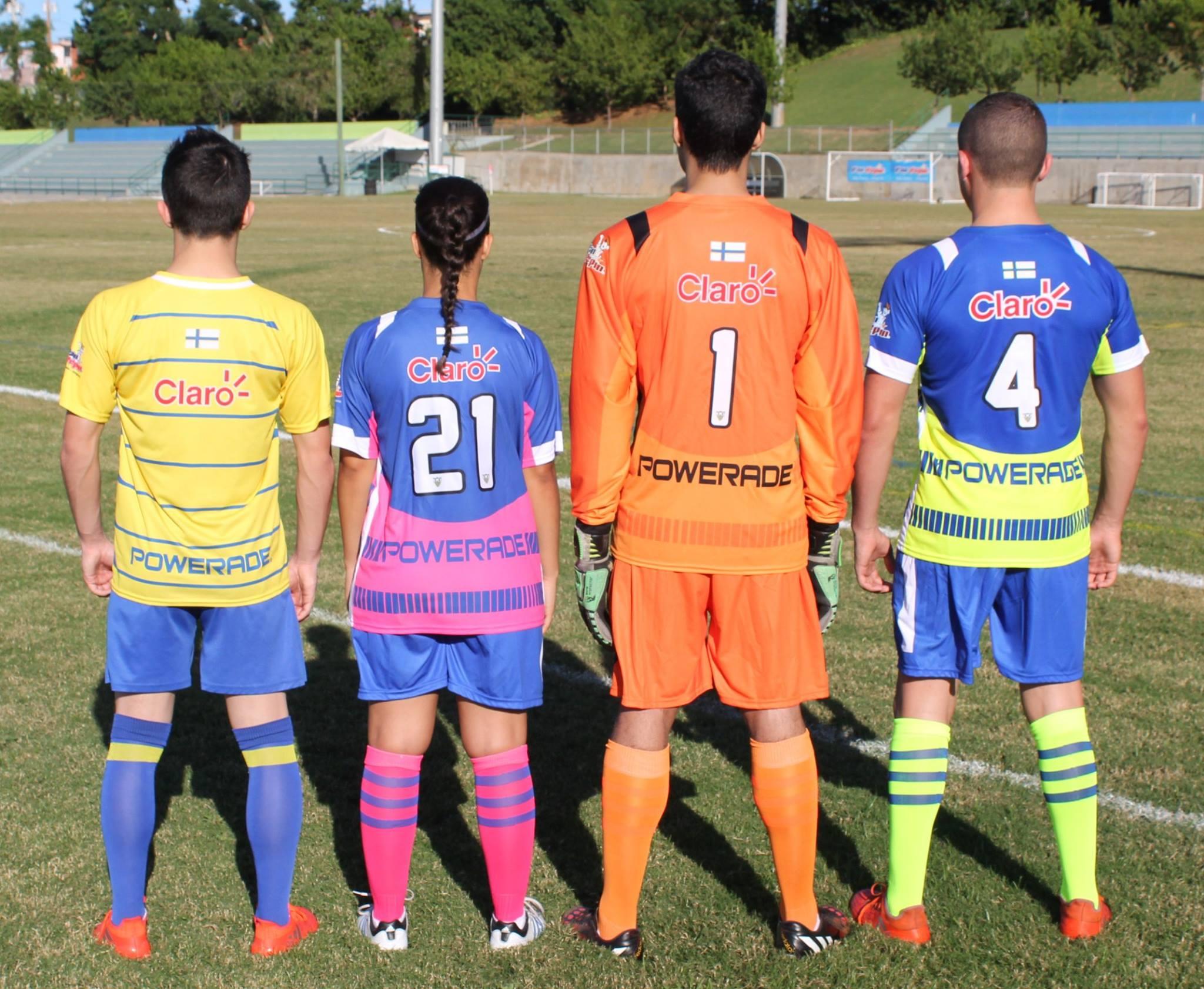 Nuevos uniformes de Bayamon FC
