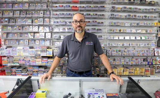 Jerry Robles, dueño de Neo Japan & Games
