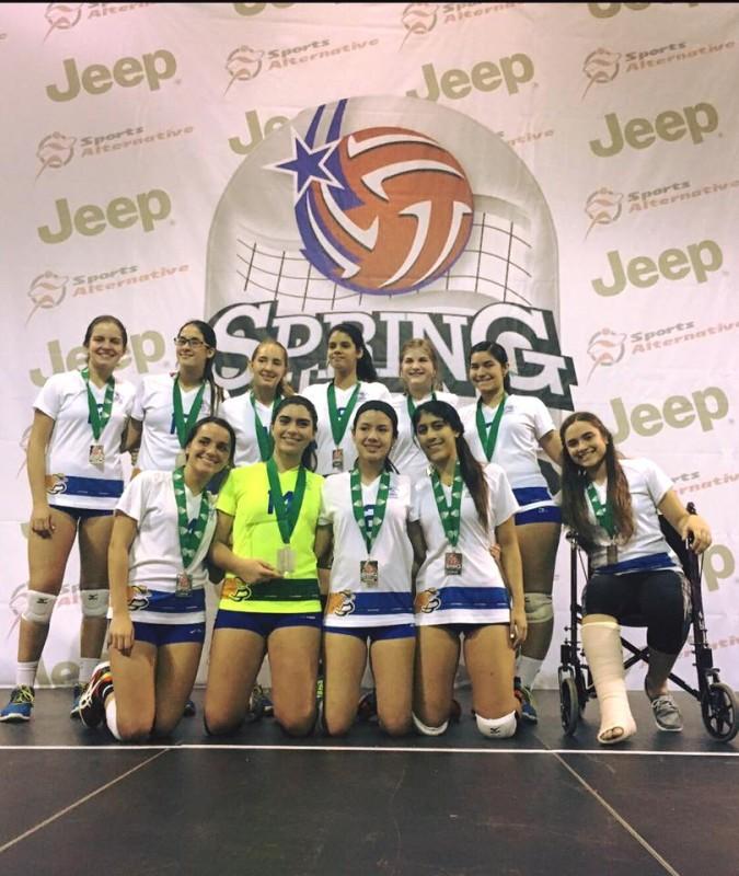 Campeonas Equipo 15 under Silver Bracket