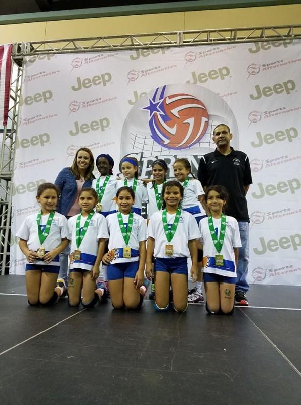 Equipo Campeon 9 under Gold Bracket