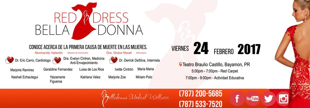 Red Dress Belladonna en el Teatro Braulio Castillo el 24 de febrero de 2017 desde las 5:00 p.m.