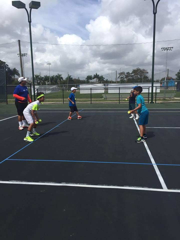 Early Development Camp en el Centro de Tenis Honda