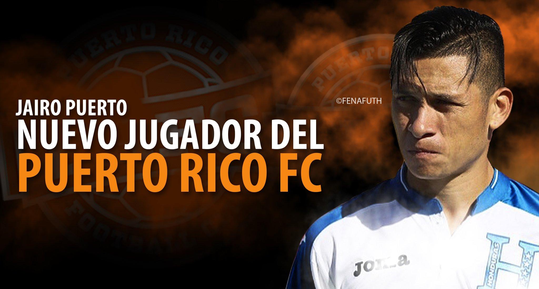 El PRFC anuncia la firma del hondureño Jairo Puerto