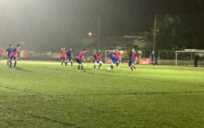 entrenamiento de la Preselección Nacional Adulta de fútbol masculino en el Bayamon Soccer Complex 2