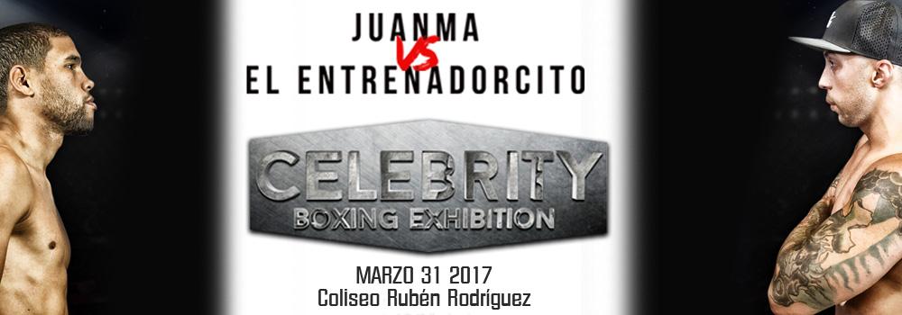Juanma vs. El Entrenadorcito el 31 de marzo de 2017 en el Coliseo Rubén Rodríguez