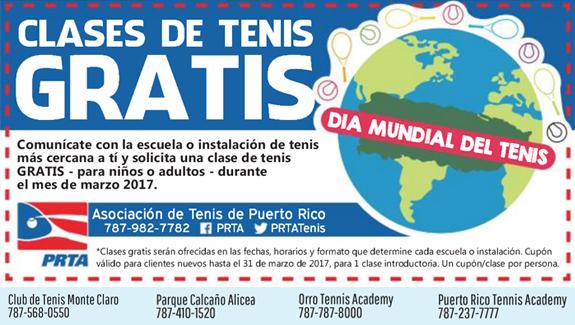 Clases de Tenis Gratis