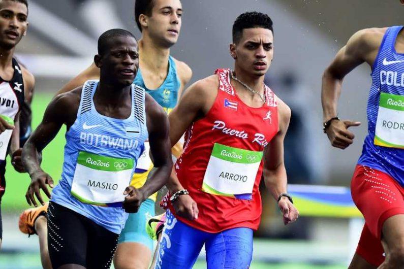 Andrés Arroyo ponchó su boleto al Mundial de Atletismo