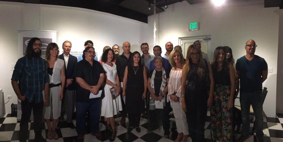 """Todos los artistas participantes de """"La Silla Nuestra de Cada Día"""" junto al alcalde y primera dama de Bayamón"""