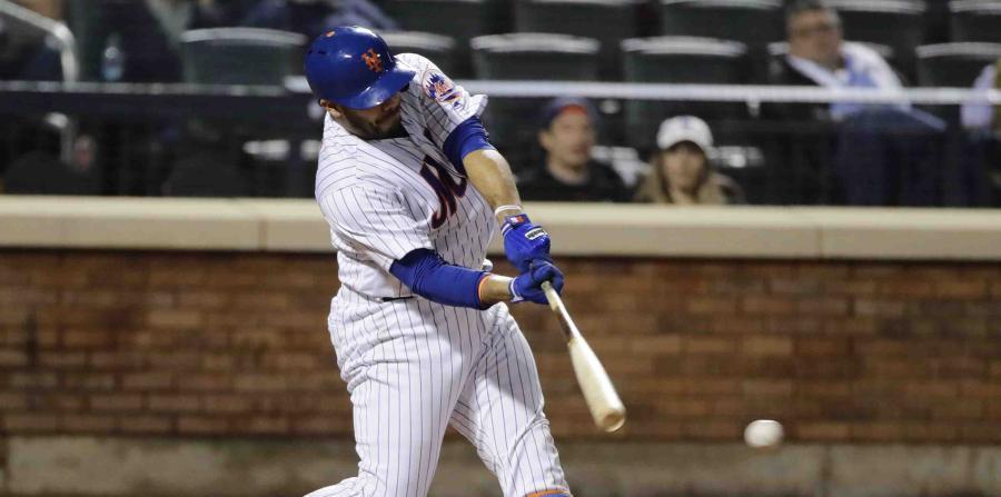 René Rivera pega dos hits en el triunfo de los Mets