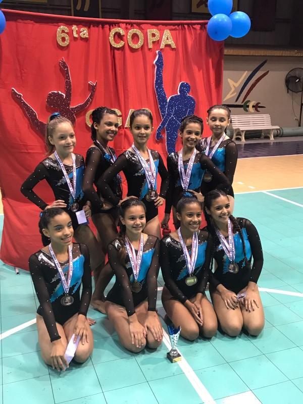 Equipo Femenino Bayamon Gymnastic Club