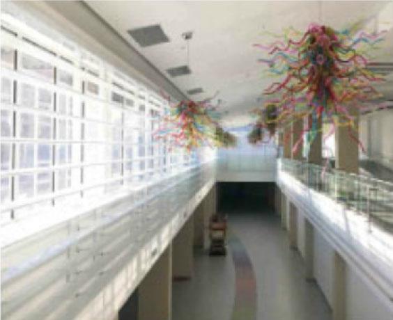 Espacio interior del nuevo Bay Shopping City