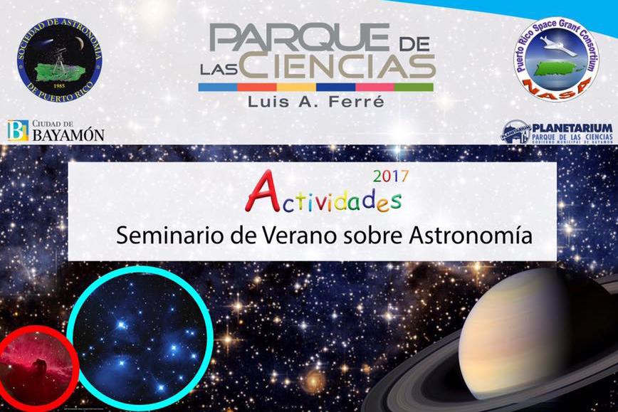 Seminario de Verano sobre Astronomía del 8 de junio al 13 de julio en el Planetario del Parque de las Ciencias