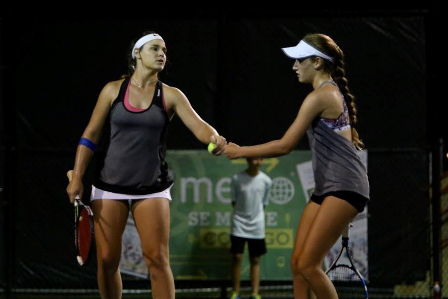 Ana Sofia Codero y Erika Barquero - Campeonas