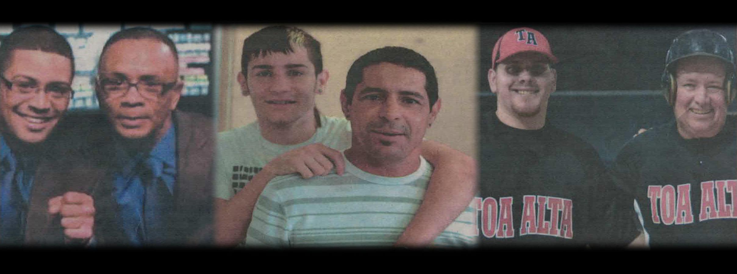 Combinación Padre e Hijo en el Deporte Bayamonés