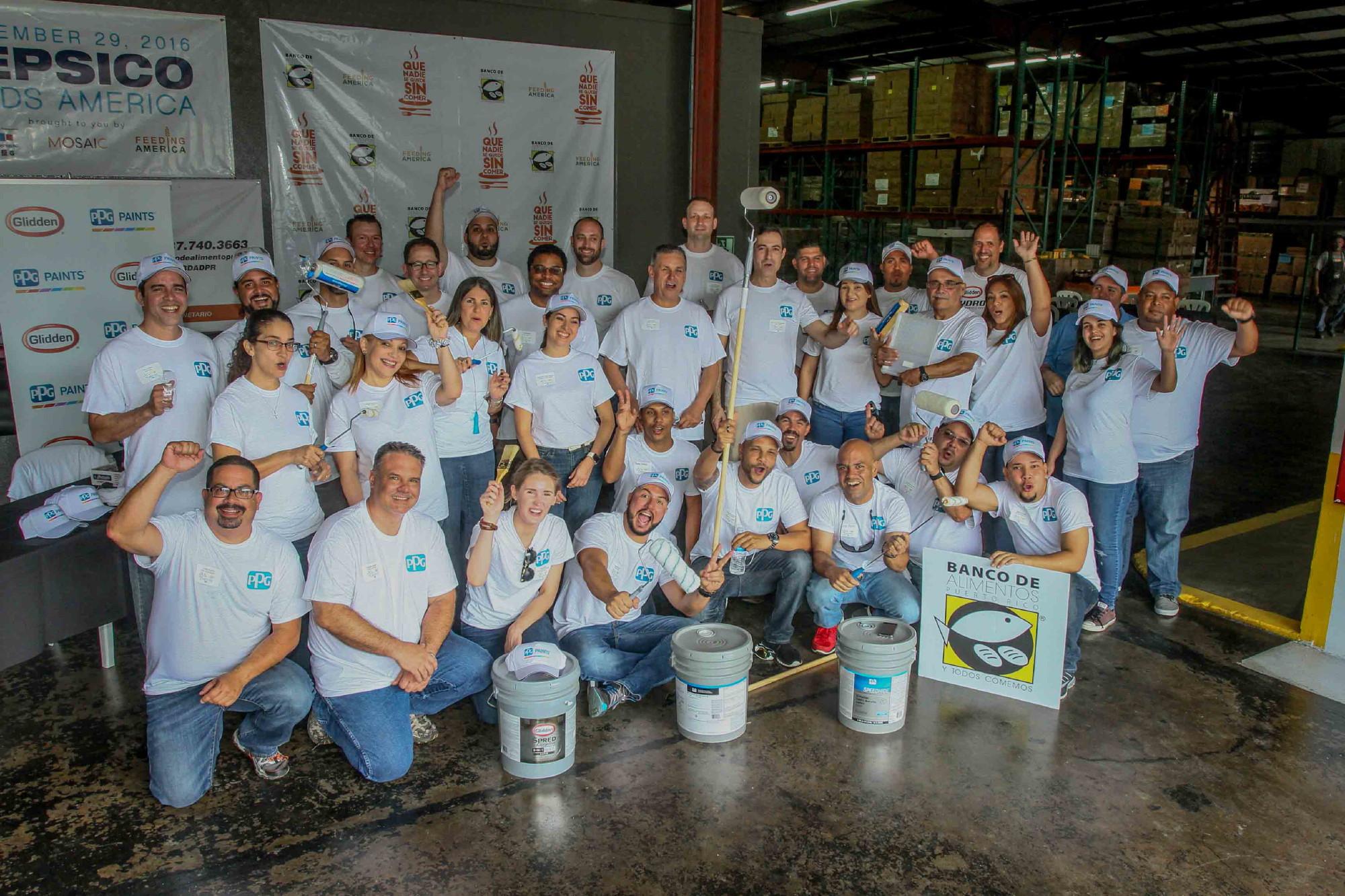 """Proclama Municipal por el Proyecto """"Colorful Communities"""" en el Banco de Alimentación"""