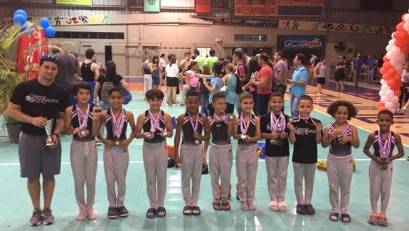 Bayamón Gymnastic Club Brilla en Salinas