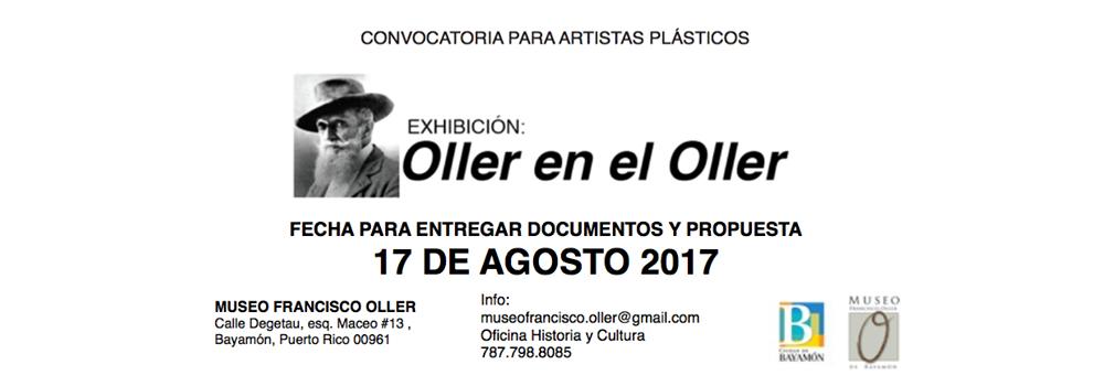 Convocatoria para artistas : Oller en el Oller
