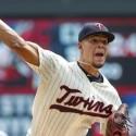 José Berríos Amarró los Bates de los Yankees