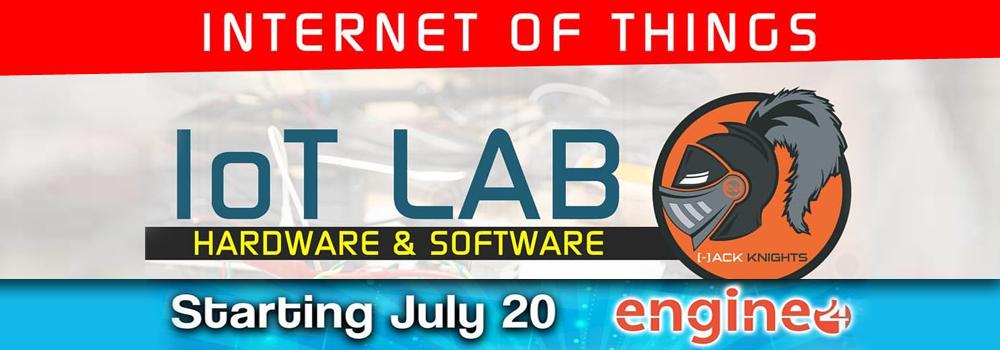 IoT Hack nights en Engine 4 desde el 20 de julio de 2017