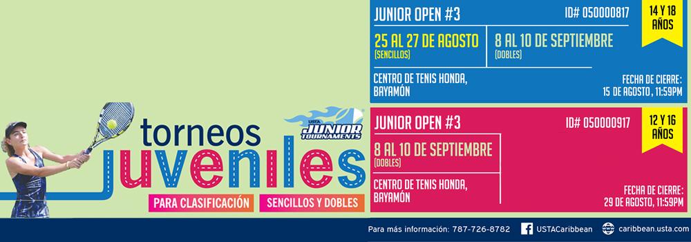 Torneos Juveniles de Tenis en el Centro de Tenis Honda