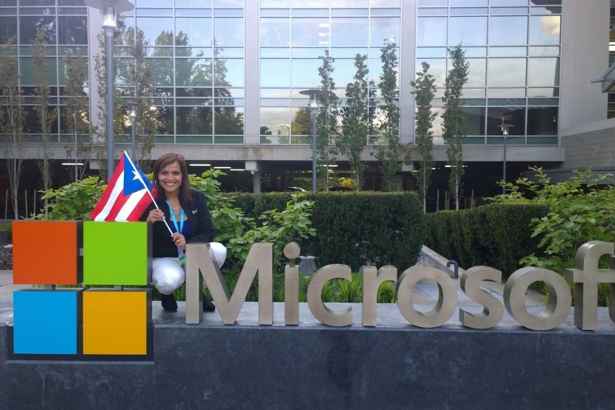 Bayamonesa directora de Educación Social Corporativa Microsoft en el Caribe