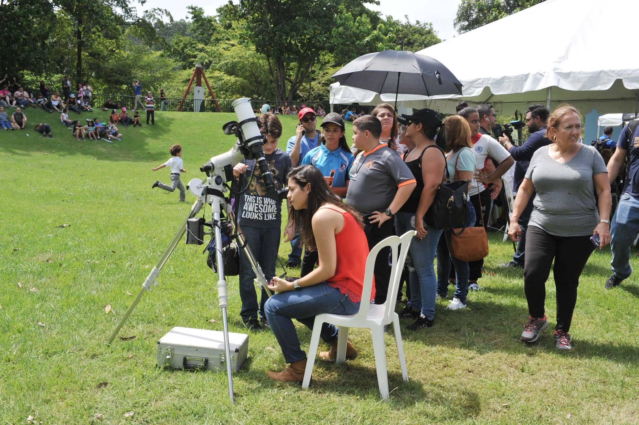 Bayamoneses Ven Eclipse Solar desde el Parque de las Ciencias