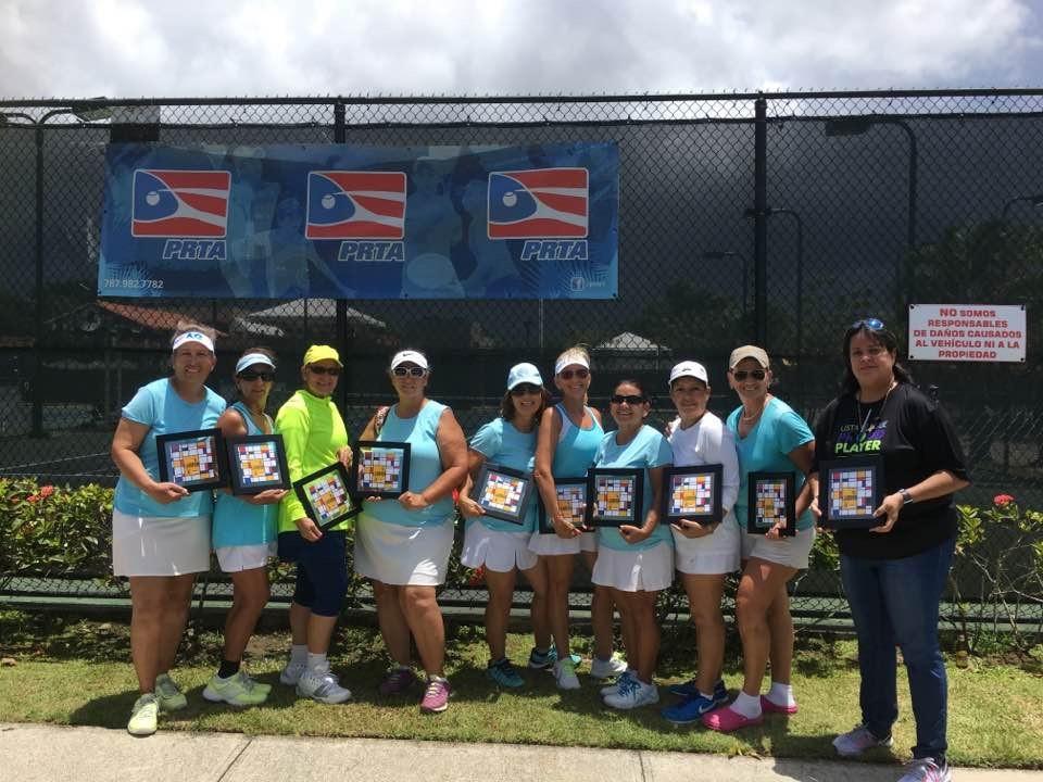 Equipo Campeon 6.0 femenino Categoria 55 años o mas Centro de Tenis Honda de Rita Garcia