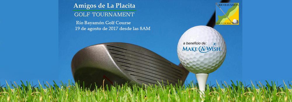 Amigos de la Placita Pre-Classic Golf Tournament en el Rio Bayamón Golf Course el 19 de agosto de 2017 desde las 8am