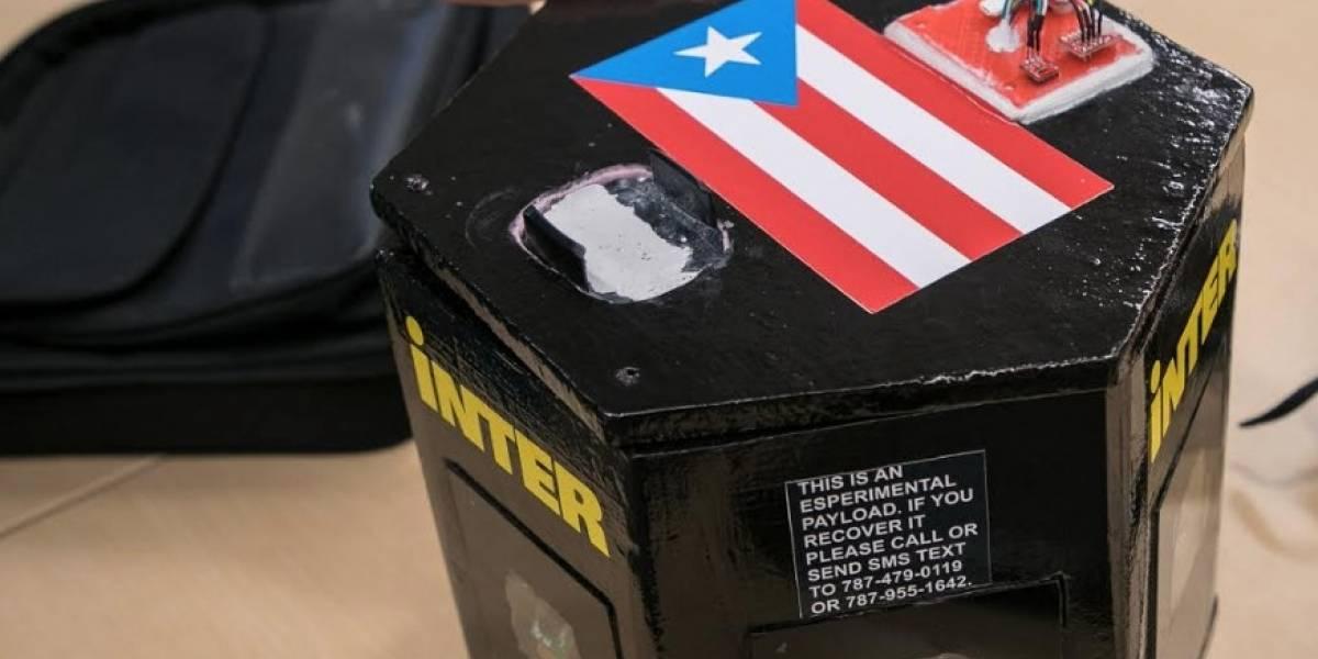 Bandera Puertorriqueña Llegará a la Estratosfera