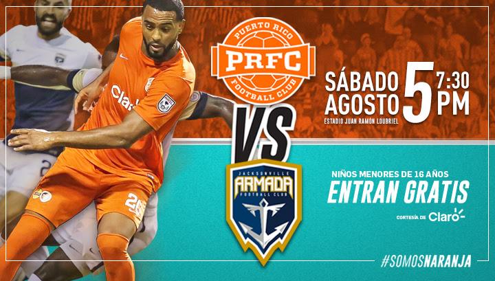 PRFC - 5 de agosto en el Estadio Juan Ramón Loubriel
