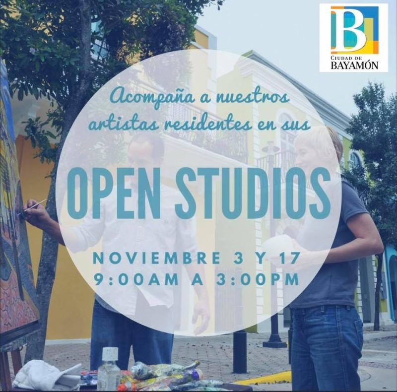 Open Studio 3-17 noviembre Artistas