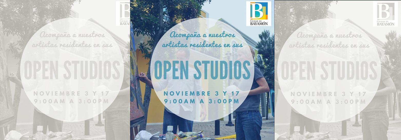 Open Studios 3 y 17 de noviembre 2017