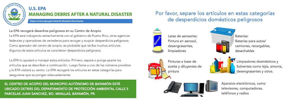 Guía para desastres - versión español