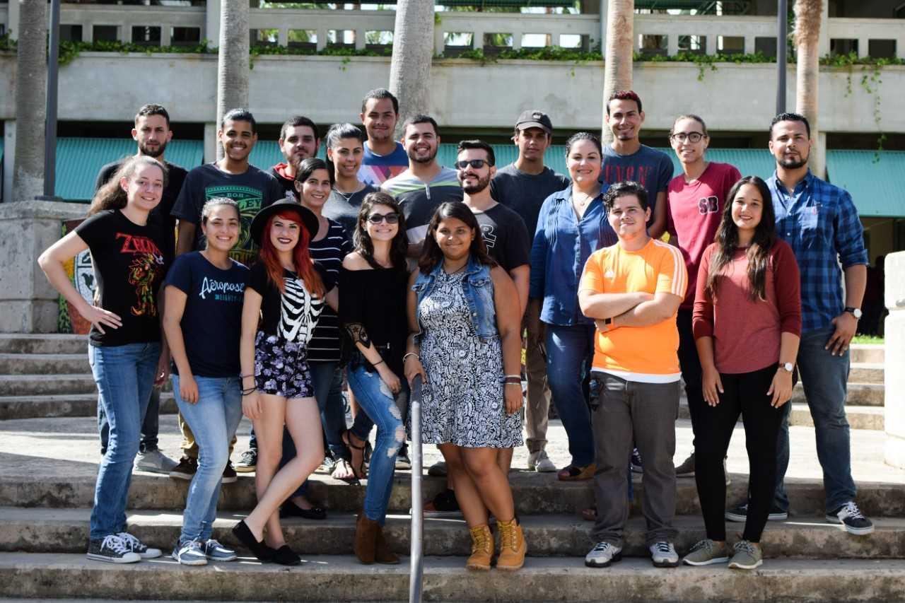 Estudiantes del Recinto de Bayamón