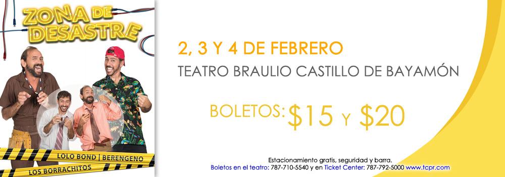 Teatro Braulio Castillo - Zona de Desastre