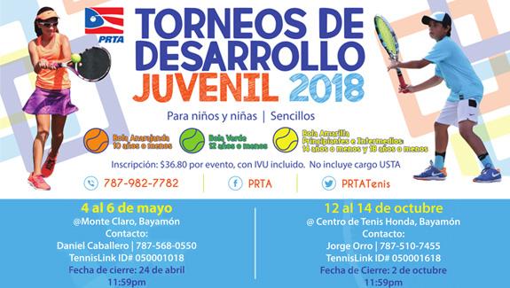 Torneo de Desarrollo Juvenil 2018