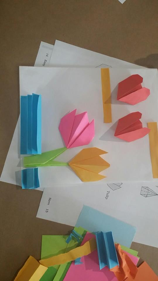 Fotos: Taller - Diseña Tarjeta de San Valentín Utilizando la Técnica de Origami