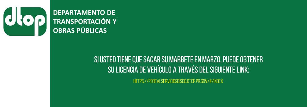 Enlace para Obtener la Licencia del Vehículo