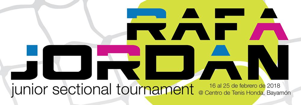 Rafa Jordan Junior Sectional Tournament del 16 al 25 de febrero de 2018 en el Centro de Tenis Honda