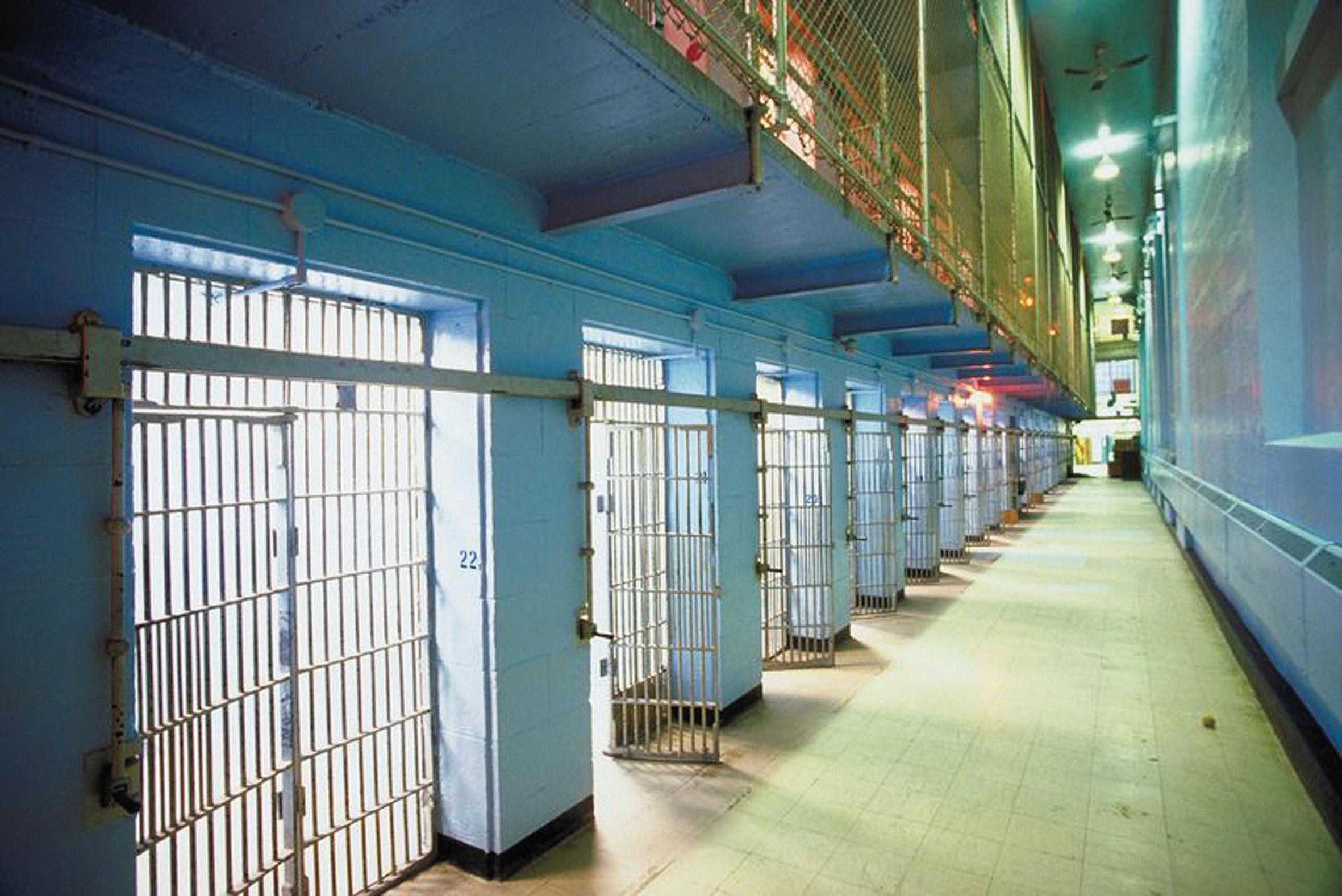 foto muestra de prisión