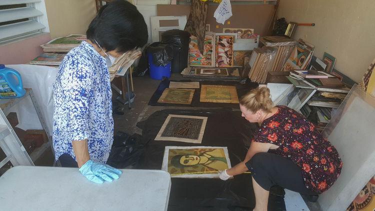 Rescatan obras del taller de Jose Rosa